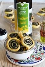 Spirali con tapenade vegetariana alla liquirizia e scorza di limone con olio extra vergine