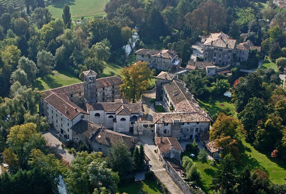 Strassoldo vista dall'alto Una casa in Campagna Alessandra Colaci ©Castello di Strassoldo di Sopra