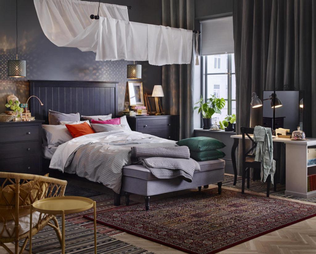 La camera da letto ikea si può sviluppare in modo creativo, scegliendo tra le innumerevoli soluzioni di letti, mobili, accessori proposti. Camera Ikea Le Novita Del Catalogo 2018 Unadonna