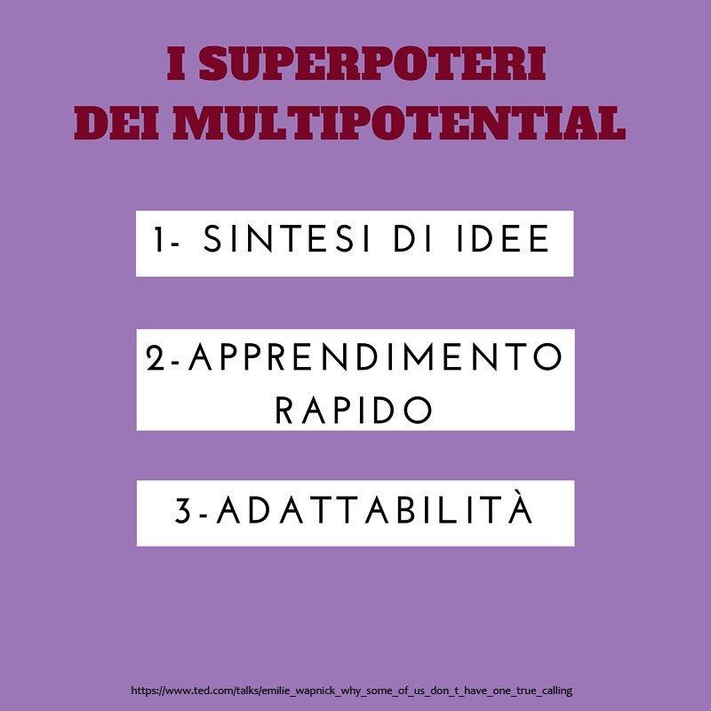 3 poteri multipotenzialità