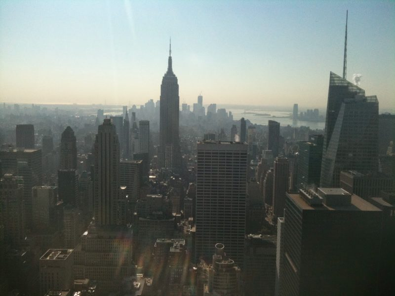 New York dal Top of The Rock newyorkite
