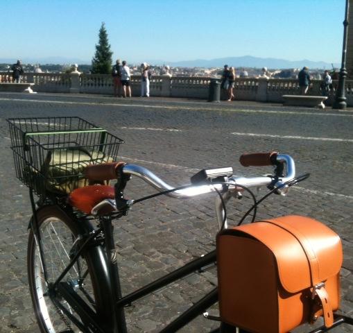 Lalla bike al Gianicolo