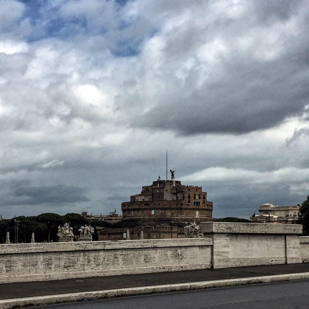 Tevere lato Castel Sant'Angelo