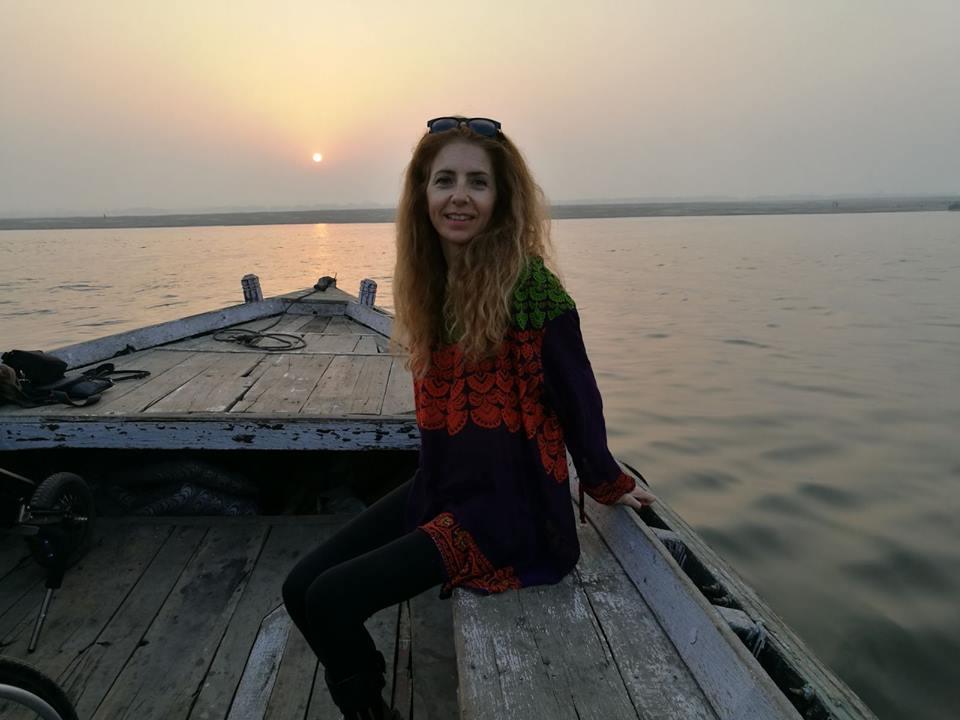 Simona Anedda nel suo viaggio senza barriere