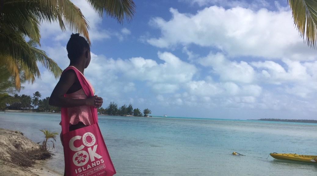 Davanti la laguna di Aitutaki
