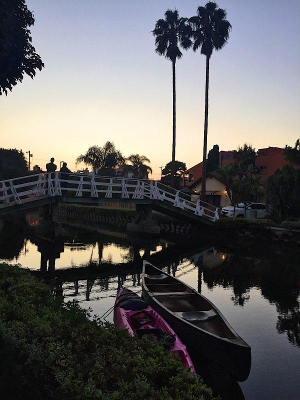 Canali a Venice beach