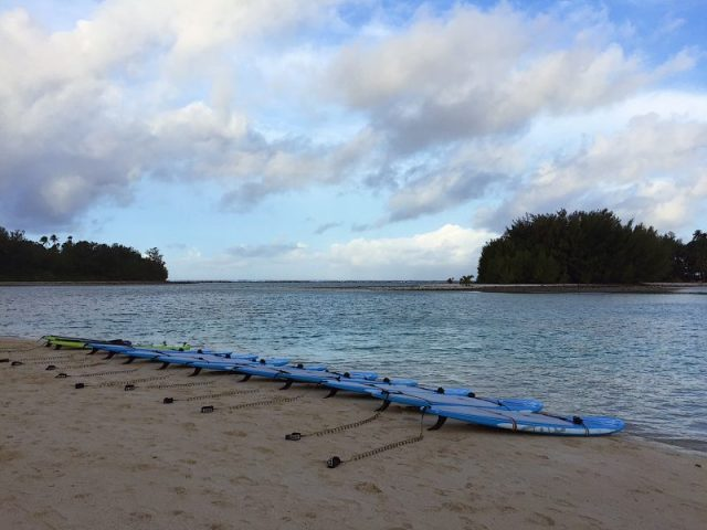 Paddle tour alle Cook islands