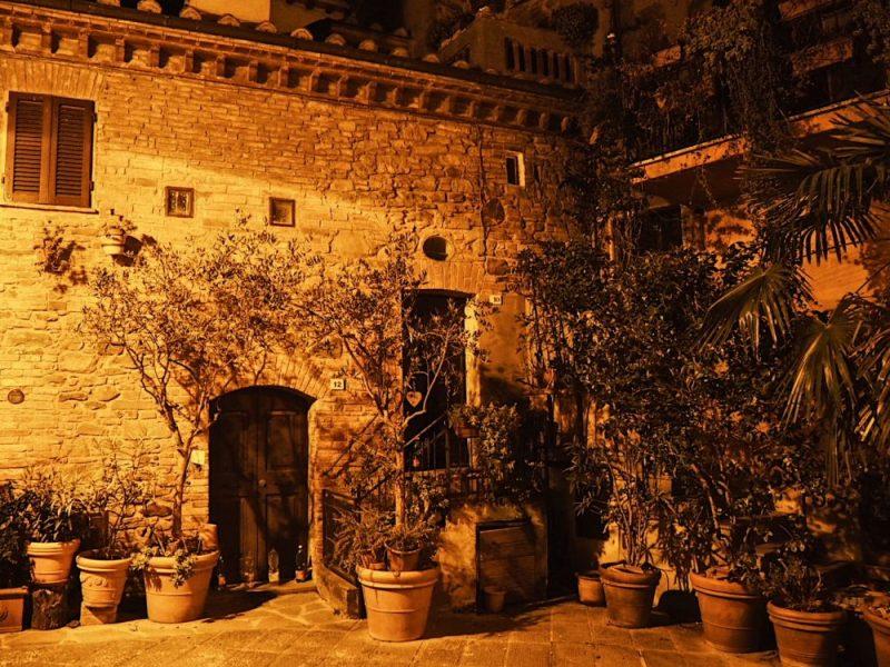 Un angolo di Panicale in Umbria