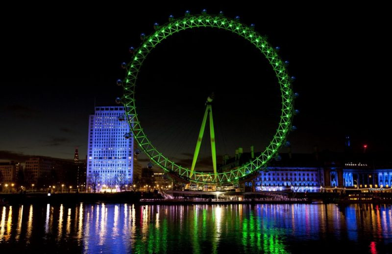 San patrizio London Eye