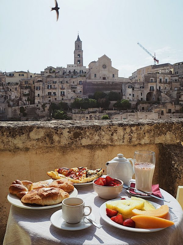 Breakfast Hotel Sassi Vista