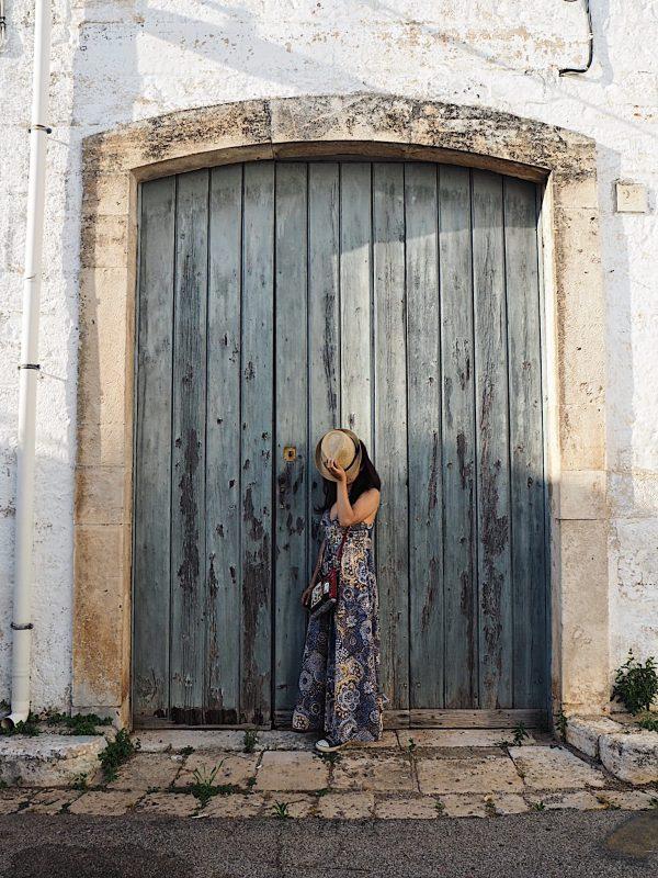 Porta azzurra Alberobello
