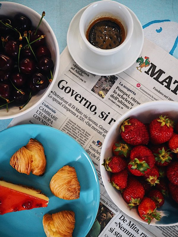 Breakfast Casa d'Amare Napoli