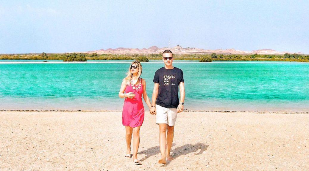 Andrea Petroni e Valentina Venanzi in Oman