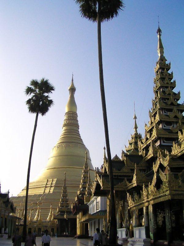 Swedagon Paya Yangon Myanmar