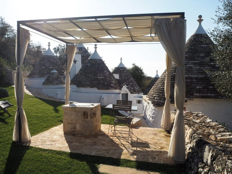 Un angolo relax a Borgo Canonica