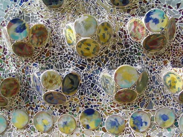 Piastrelle ceramica e vetro Casa Batllo