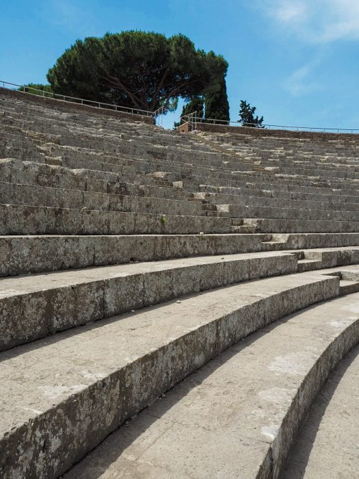 Teatro romano di Ostia