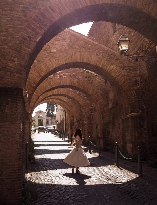 Clivo di Scauro Roma Unadonnaalcontrario