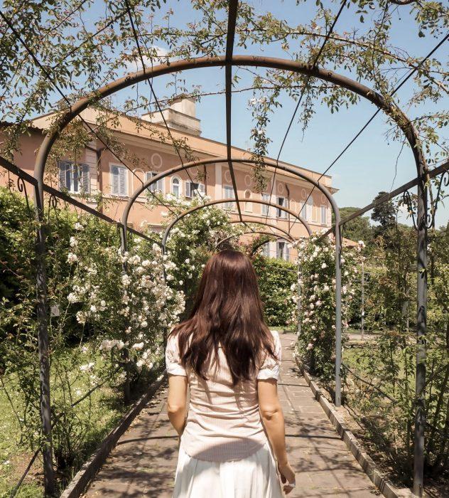 Roseto comunale Roma Unadonnaalcontrario