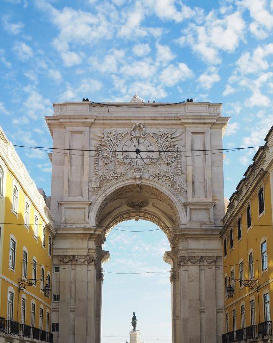 Arco Rua Augusta Lisbona