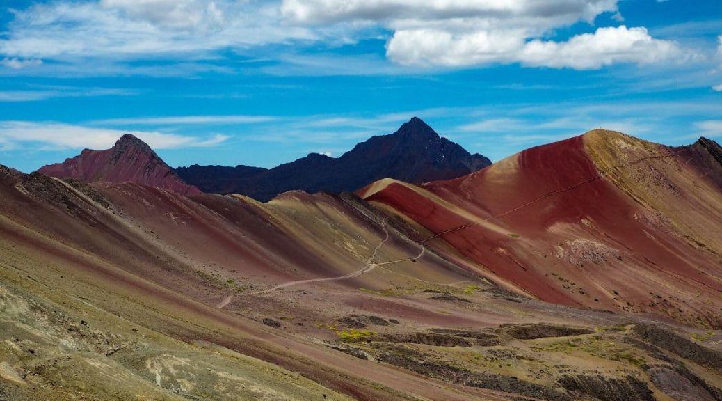Vinicunca montagna arcobaleno Perù
