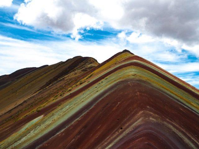 Vinicunca montagna dai sette colori