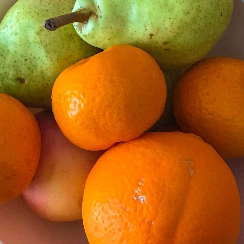 Igiene in viaggio: frutta e verdura