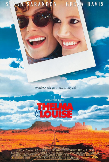 film di viaggi on the road locandina thelma & Louise