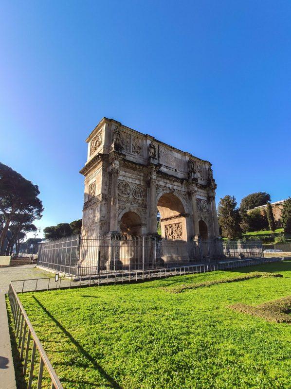 Arco di Costantino Colosseo Roma unadonnaalcontrario