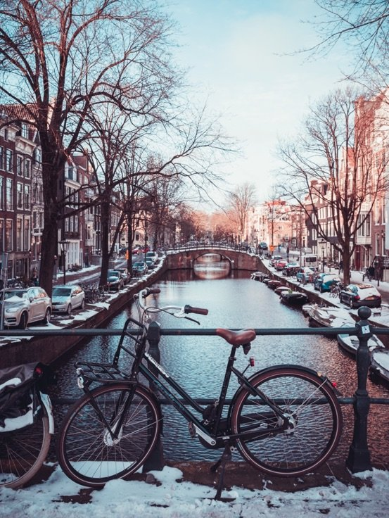 Bici canali Amsterdam
