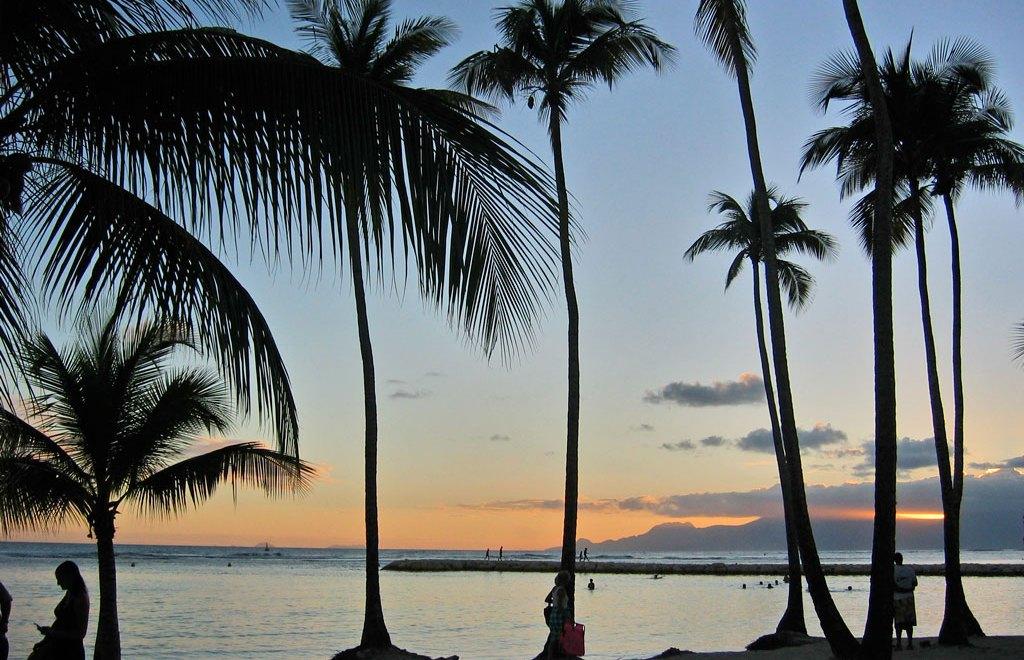 tramonto caraibi guadalupa