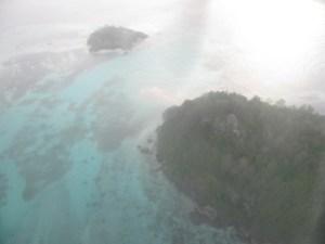 volo sulle seychelles