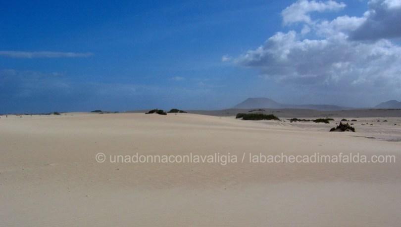 le straordinarie dune di dune corralejo a Fuerteventura