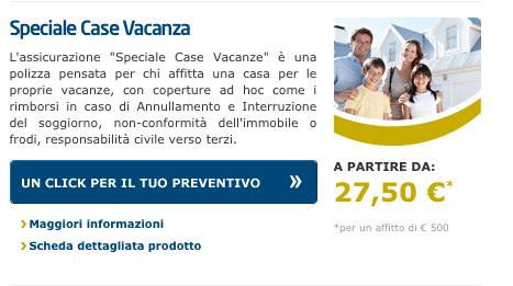assicurazione case vacanza ERV