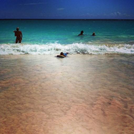 Il mare delle Bahamas
