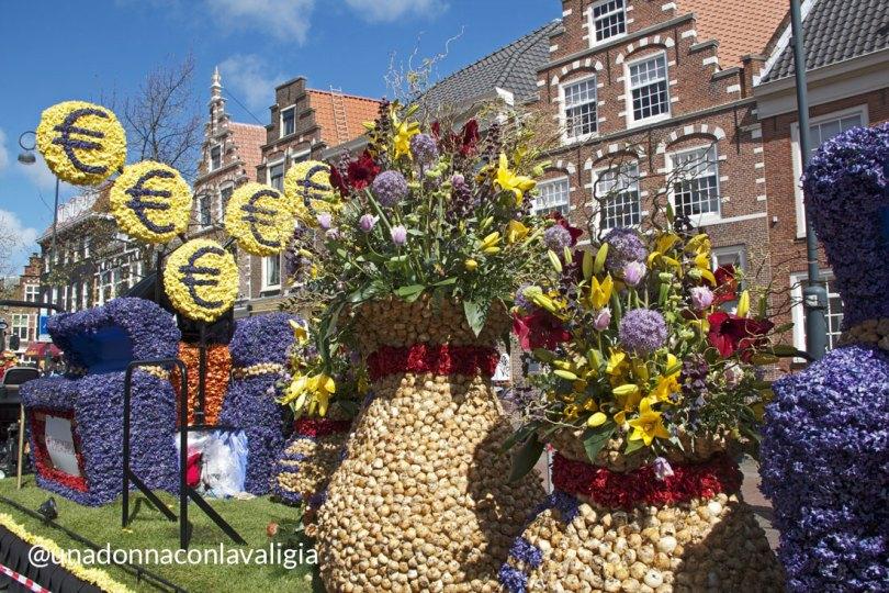 Haarlem olanda parata dei fiori