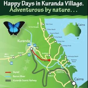 Kuranda location