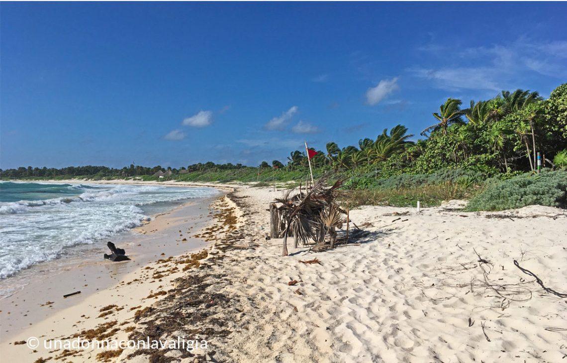 spiaggia riviera maya messico