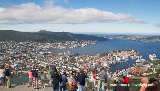 fløyen panorama bergen