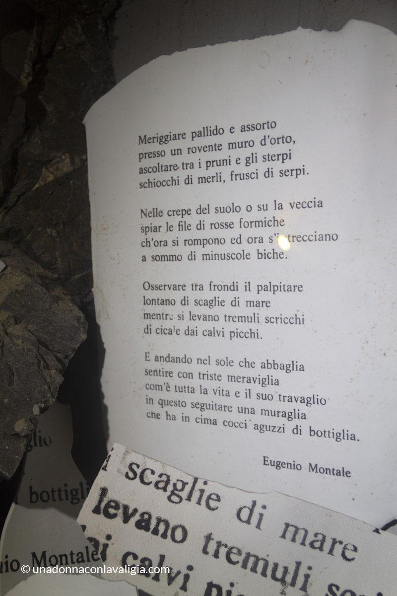 poesia montale monterosso