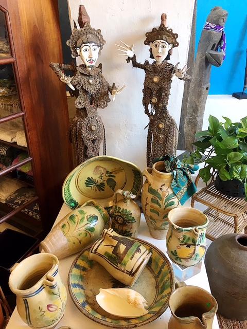 Arte orientale nella boutique Raia