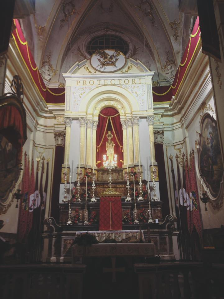 Interno Basilica Palazzolo Acreide
