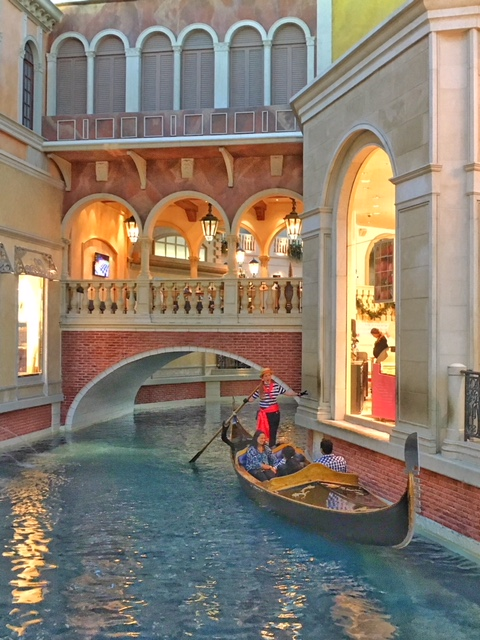 Gondole Hotel Venetian Las Vegas