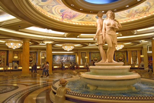 Interni Caesars Palace Las Vegas