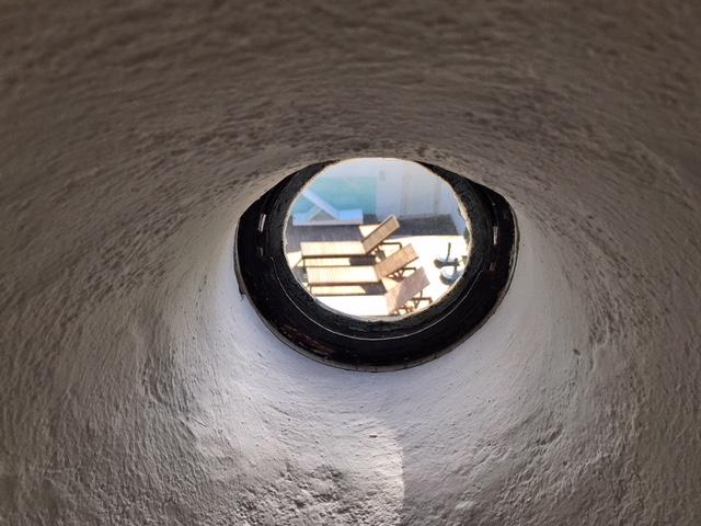Spioncino bagno suite Amadeo de Souza Cardoso Palacio Belmonte