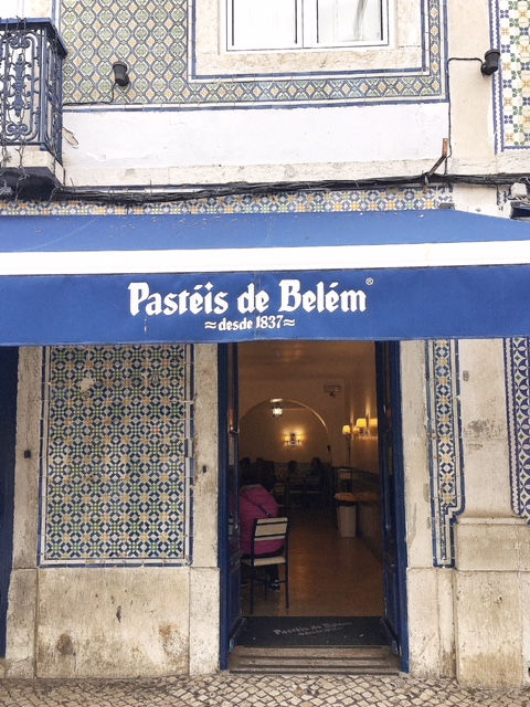 Fábrica dos pastéis de Belém
