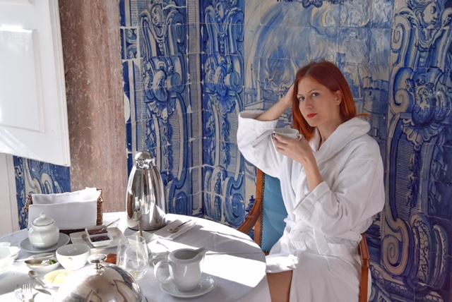 Silvia colazione suite Palacio Belmonte