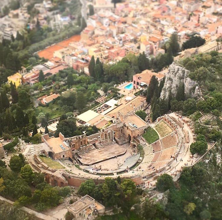 Teatro Greco Taormina overview
