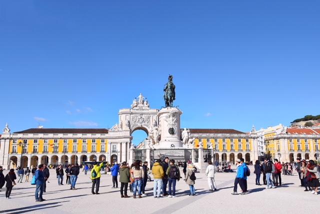Praca do Commercio Lisbona