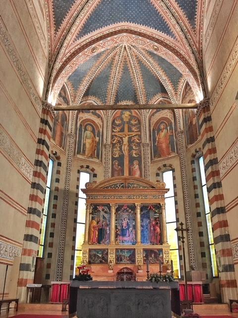 Trittico Mantegna Basilica di San Zeno Verona